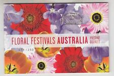 AUSTRALIA, 2011 IMPERFORATE Prestige Booklet, Floral Festivals. # 078/250
