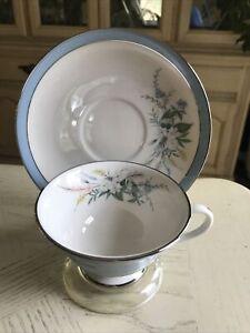 Gorham Flintridge China True Love Cup & Saucer