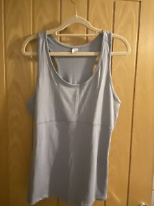 Brand New No Tags Grey Gym Vest Top - Size XXL