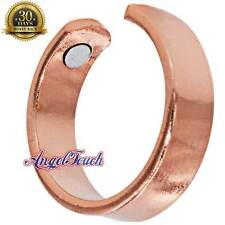 SHINY SOLID COPPER MAGNETIC RING MEN WOMEN ARTHRITIS PAIN  CR07