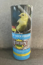 Audubon Park Nyjer Sock Feeder Filled With Wild Bird Food 12 oz New Sealed