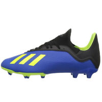 adidas Kids X 18.3 FG Footblue/Solar Yellow/Core Black DB2416