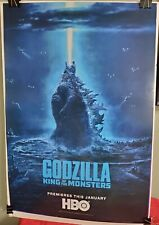 GODZILLA King of the Monsters HBO Movie Poster