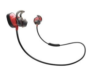 Bose SoundSport Pulse Neckband Wireless Headphones - Red