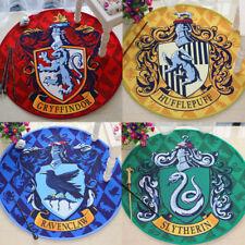 Harry Potter Hogwarts Four Houses Symbol Rug Home Decor Rectangle Round Carpet