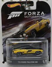 FORZA MOTORSPORTS FM 1973 73 FORD FALCON XB YELLOW 1 RACE CAR 2017 HW HOT WHEELS