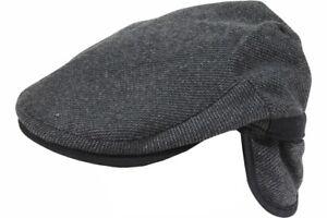 Dorfman Pacific Men's Tweed Earflap Ivy Cap Hat
