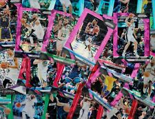 LOT (58) 2017-19 PANINI PRIZM LOT SILVER RED BLUE PURPLE ICED PRIZM ASSORTED LOT