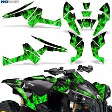Graphic Kit CanAm Renegade X/R ATV Quad Decals Wrap Can Am 500/800/1000 ICE GRN
