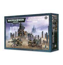 Warhammer 40k Astra Miliatrum Cadian Heavy Weapon Squad NIB