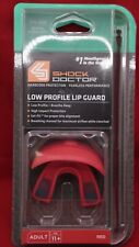 Shock Doctor Low Profile Lip Guard Red Adult Mouthpiece