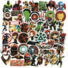 50 Pcs/Lot Stickers MARVEL Avengers Super Hero DC For Car Laptop Skatboard Decal