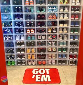 GOT'EM Doormat, Sneaker Mat, Red Sneaker Rug, Hype Beast Sneaker Room Floor Mat