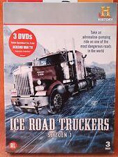 ICE ROAD TRUCKERS - SEIZOEN 1 - !!! 3  DVD BOX  !!!