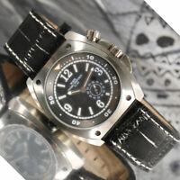 Orologio da uomo Automatico con Miyota 8215 con con ghiera interna girevole gmt