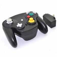 Wireless Gamecube Controller w/ Adapter Wavebird Style for Nintendo NGC GC Black