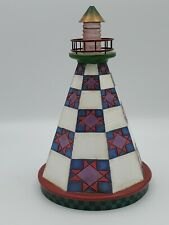 Jim Shore Enesco Star lighthouse Seaside 114441 Beach house Decor See Details!