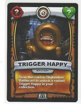 2016 SKYLANDERS BATTLECAST TRIGGER HAPPY MYSTERY CARD