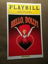 HELLO DOLLY COLOR COVER PLAYBILL