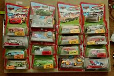 Disney Cars lot SDCC Mater Chase cars Mcqueen Race O Rama