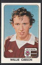Panini football 1979 sticker-nº 492-willie gibson-heart of midlothian