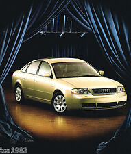 1999 AUDI A6 Brochure / Catalog with Color Chart: A-6, AVANT