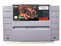 Pit Fighter Pitfighter - SNES Super Nintendo Game Tested + Working & Authentic!