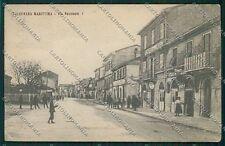 Ancona Falconara PIEGHINA cartolina QQ1146