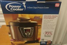 New listing Power Cooker 6 quart electric pressure slow cooker home canning. 1000W 8 in 1