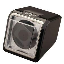 Diplomat Single (1) Watch Winder - High Gloss Black Finish / Chrome Accents