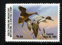 US Stamps # SC 4 $5.50 Ducks XF OG NH Scott Value $65.00