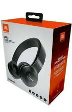 JBL E-45BT Wireless On-Ear Headphones with One-Button Remote & Mic - Black