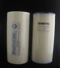 Twin Pack  Jumbo Flow Max 4.5 x 10  20 and 5 micron Filters
