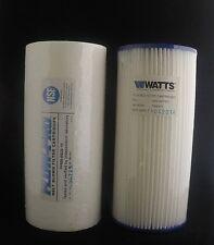 """2 CONF da 1 MIC 10/"""" Sedimento Filtri d/'acqua per qualsiasi unità standard osmosi inversa da Aquaboon"""
