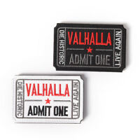 ticket to valhalla morale military tactical vikings patch army badge armband ZSC