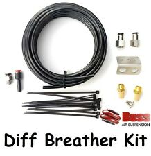 BOSS Diff Breather Kit Mitsubishi Delica 2007 onwards