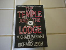 The Temple and the Lodge by Richard Leigh and Michael Baigent  1989 First Editio