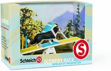 Schleich Dogs Agility Scenery Pack Worlds Of Imagination Training NEW