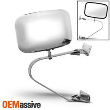 Fit 1 x [Left or Right] Bronco F-Series Truck Ranger Chrome Manual Side Mirror