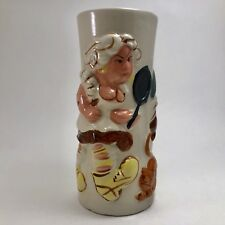 Trader Vic Tiki Mug 1979 Tattoo Woman Fresh Fish Monger Japan Ceramic Vintage