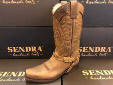 Sendra Boot Cowboystiefel Westernstiefel Motorradstiefel  3434 Braun