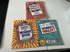 Where's Wally? Where's Wally Now? The Fantastic Journey - Handford - books 1-3-5