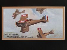 No.11 The NIEUPORT AVION DE CHASSE FRENCH - Aeroplanes REPRO of Thomas Bear 1926