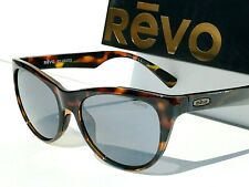 New! Revo Barclay Tortoise Blue Polarized Grey Lens Womens Sunglass 1037 22 Gy