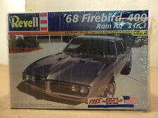 REVELL 1968 PONTIAC FIREBIRD 400 RAM AIR 2N1 1/25 Model Car Vintage New in Box
