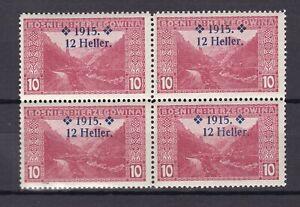 Bosnia Herzeg - 1915 -  Michel 92- error overprint - MNH