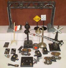CG) Postwar O Gauge Marx Toy Train Accessories & Car Parts