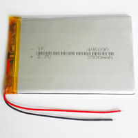 406090 3.7V 3500mAh LiPo Polymer Rechargeable Battery li cells For Tablet PC GPS