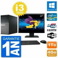 PC de bureau avec Intel Core 2 avec windows 10
