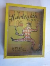 vintage The Harlequin Puzzle RJ Series Popular Puzzles Journet London England
